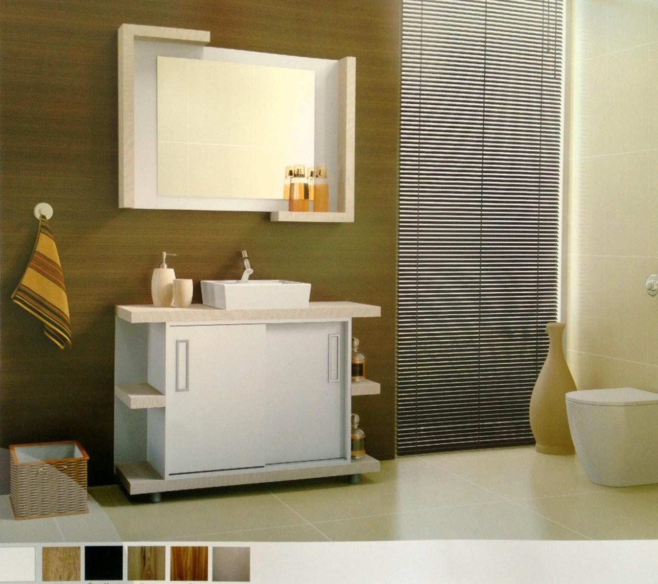 Clique aqui para visualizar a galeria completa #A47527 1288x1143 Balcao Banheiro 80cm